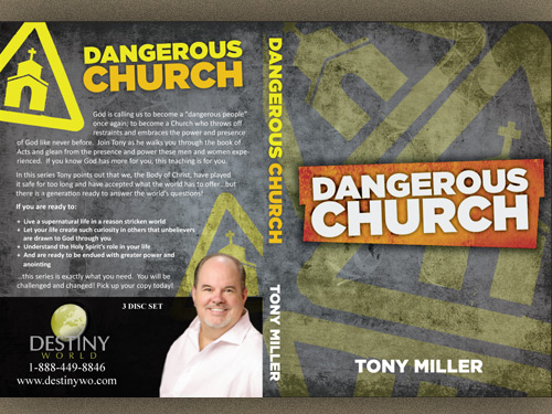 Dangerous Church Series Cover Design by Ingage Creative