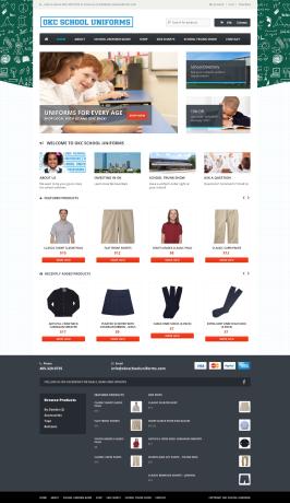 OKC School Uniforms Web Design OKC